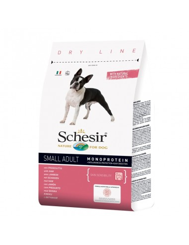 Schesir dry food for dog small adult  šunka 2kg