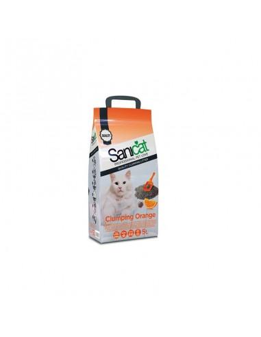 Sanicat Clumping Orange 5 L posip za mačke