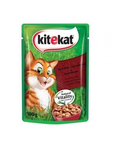 KITEKAT Kesica za mačke sa govedinom, 100gr