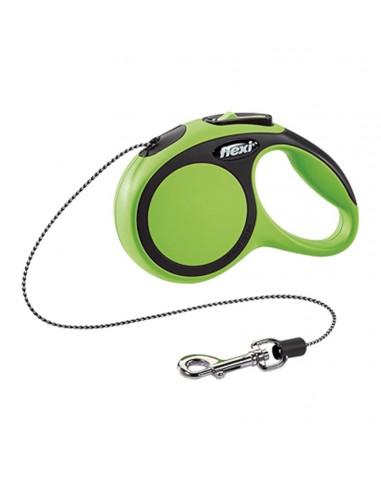Flexi Comfort XS, zelena uže 3 m