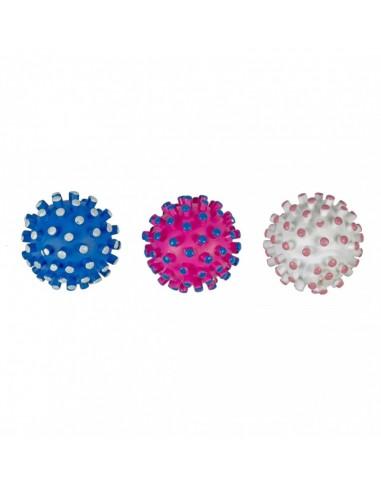 Vinyl ball hedgehog, lopta jež igračka za pse