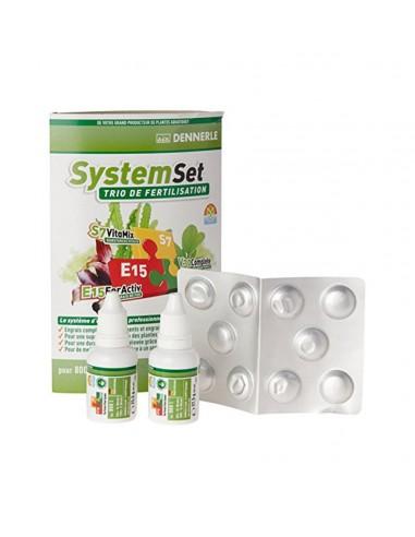 Dennerle System Set E15, 10 tabs