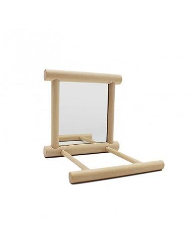 Nobby Ogledalo za ptice sa drvenim...
