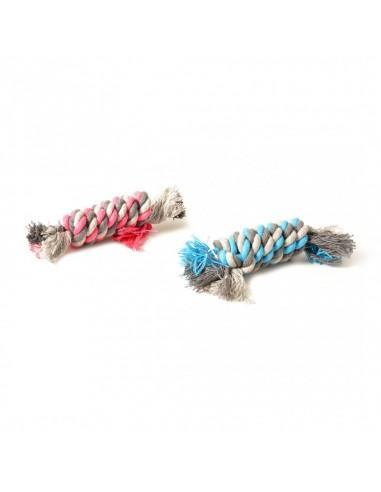 Duvo Tug Toy Rope Dummy Plavi/Roze 13cm