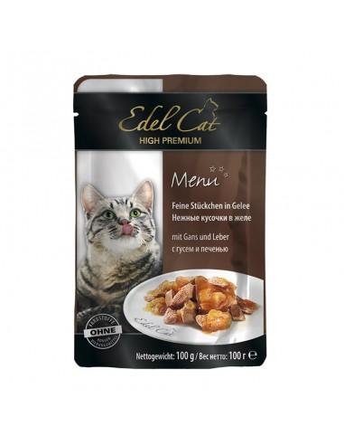 Edel Cat sos guska i jetra u gelu 100gr