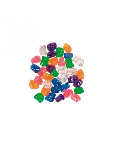 Plastični kamenčići u boji